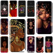 Queen Afro Melanin Poppin black girl TPU Phone Case For Samsung Galaxy J3 J5 J6 J8 2018 J3 J5 J7 2017 J7MAX J5 J7 2016 J3PRO(China)
