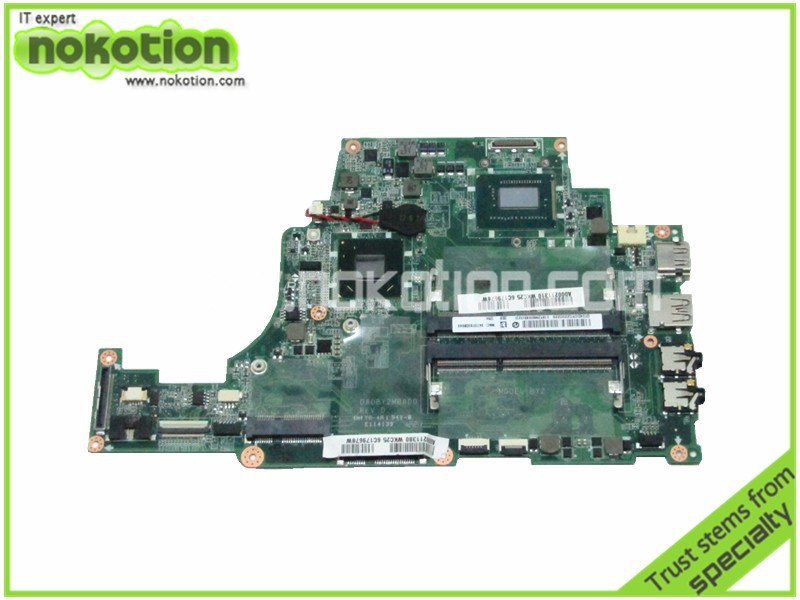 NOKOTION mère d'ordinateur portable pour toshiba satellite U845 DA0BY2MB8D0 A000211310 i5-3317U HM77 GMA HD4000 DDR3