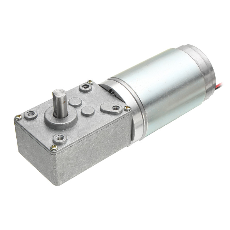 DC Worm Reducer Gear 12V 160rpm High Torque Motor Electric Motor With Reduction Hot Sale  цены