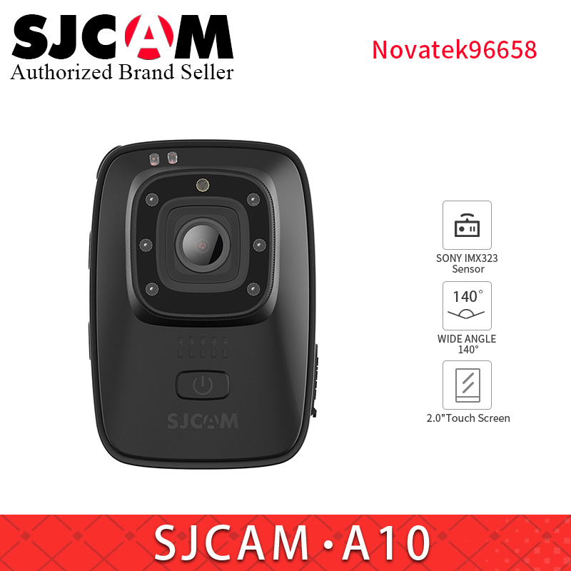 все цены на SJCAM A10 Portable MINI WIFI sport Camera Wearable IR-Cut B/W Switch Night Vision Laser Lamp Infrared Action Cam 2650mAh Battery онлайн