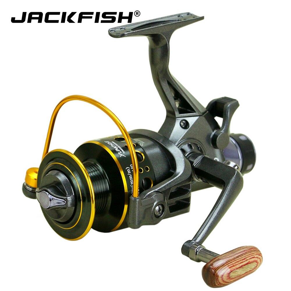 jackfish 11 rolamentos de esferas carreteis de pesca esquerda direita roda de pesca do mar alta
