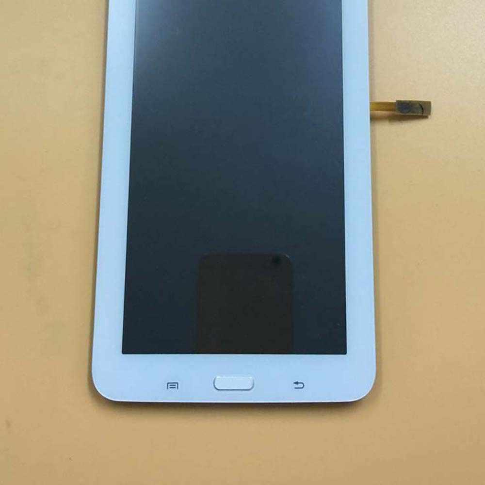 Negro/blanco para Samsung GALAXY Tab 3 Lite SM-T113 T116 pantalla táctil Sensor digitalizador cristal + LCD panel de visualización con marco