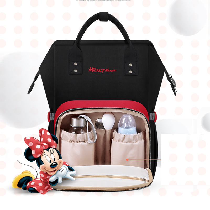 Disney diaper bags Mummy Maternity Nappy Bag Large Capacity Baby Travel Backpack Designer Nursing Diaper Bag diaper backpack large capacity baby bag multi function travel backpack nappy bags nursing bag fashion mummy