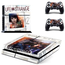 Lift is Strange 2 PS4 Skin Sticker Decal Vinyl for Sony Playstation 4 Console and 2 Controllers PS4 Skin Sticker