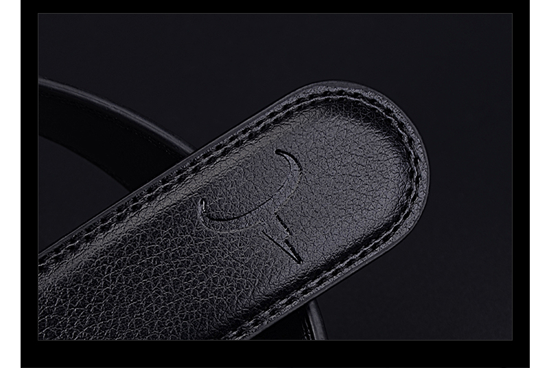حزام COWATHER  جلد طبيعي للرجال ذو جودة عالية 17