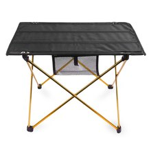Aluminium Alloy Portable Outdoor Table Foldable Outdoor Table With Bag Ultralight Folding Table For Camping Hiking Picnic