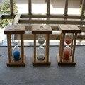 2017 NOVA 1 pc de 1 minutos/5 minutos Temporizadores Ampulhetas Areia Relógio Ampulheta Temporizador Escova De Dentes Coloridos relógio de mesa