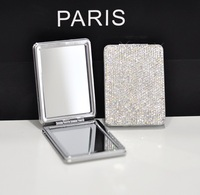Makeup mirror compact Portable mirror Compact mirror Valentine's day gift Wedding gifts Mother's day gifts