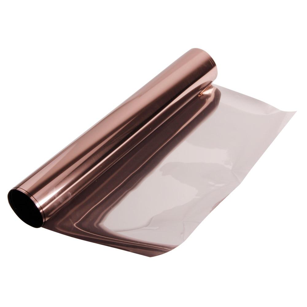1.52 m x 30 m/5ftx100ft Haute Chaleur Rejet et UV Protection Solaire Bronze Soleil Ombre Film De Contrôle Solaire bâtiment Fenêtre Film