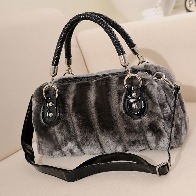 2017 Winter Women Handbags Faux Fur Bags Designer High Quality Sac A Main Femme In Shoulder From Luggage On Aliexpress Alibaba