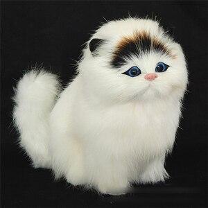 Image 1 - 2019 ラブリー電気シミュレーションぬいぐるみ猫のおもちゃソフトサウンディングかわいいぬいぐるみ猫の人形のおもちゃ子供のため