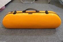4/4 violine fall Volle größe Hard case glasfaser Starke Gelbe Yinfente #1554