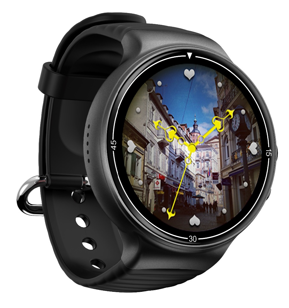 Kudely I8 4G Android montre intelligente hommes Sport reloj inteligente carte Sim Tracker de remise en forme