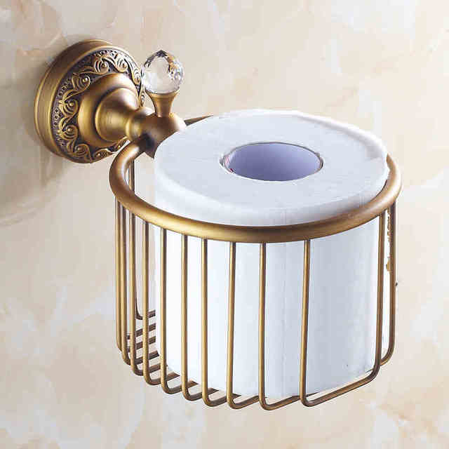 Interior Vintage Bathroom Accessories european vintage bathroom accessories antique brass toilet roll holder paper holder