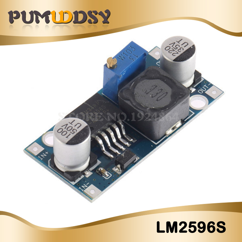 1pcs DC-DC Step Down Converter Module LM2596 DC 4.0~40 To 1.3-37V Adjustable Voltage Regulator Hot Sale