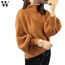 Здесь можно купить   Womail turtleneck sweater female women turtleneck knitted sweater female knitted christmas sweater Batwing Sleeve nov30 Women