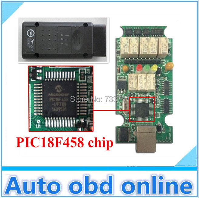 free shipping 2015 new opcom with pic18f458 chip obd2 opel firmware op com opel opcom obd2. Black Bedroom Furniture Sets. Home Design Ideas