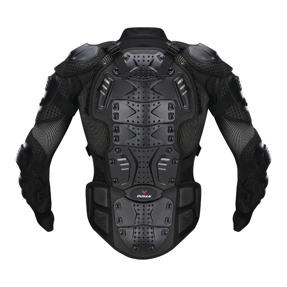 DUHAN Moto Motorcross Racing Motorcycle Body Armor Protective Jacket Protective Motorcycle Knee Pad Gloves One Suit