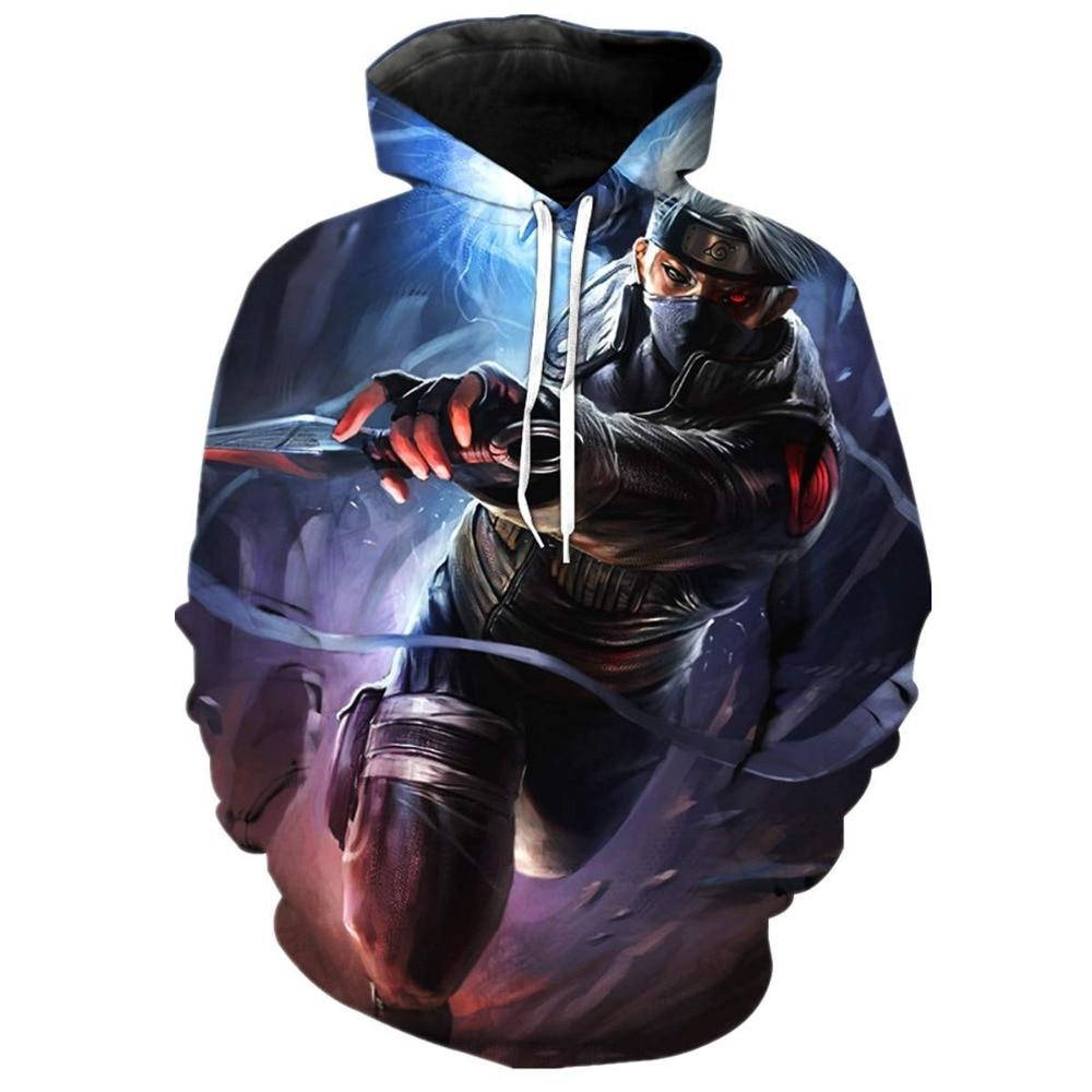 Naruto 3D Hoodies Sasuke Pritned Sweatshirts  Men/Women Sweatshirt Hooded Men Tracksuits Brand Drop Ship Hooded Pullover Jacket
