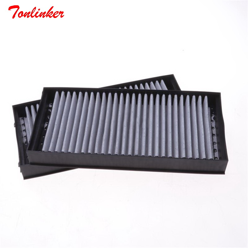 Image 4 - Car Cabin Air Filter Fit For BMW E70 X5 3.0si 4.8i E71 X6 xDrive35i 3.0 4.0 xDrive40i xDrive50i 4.4T Model 2008 2009 2014 Filter-in Cabin Filter from Automobiles & Motorcycles