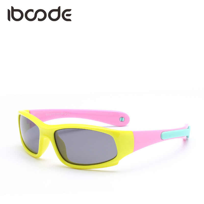 d2ca38839a9 iboode Brand New Baby Ride Sunglasses Polarized Lens Sport Outdoor Hanging  Adjustable Unique Boy Girl Children