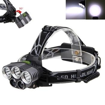 2500 Lumens 5X XML T6 LED USB Headlight Flashlight Super Bright 6 Modes Lamp for 2 x 18650 battery sitemap 19 xml