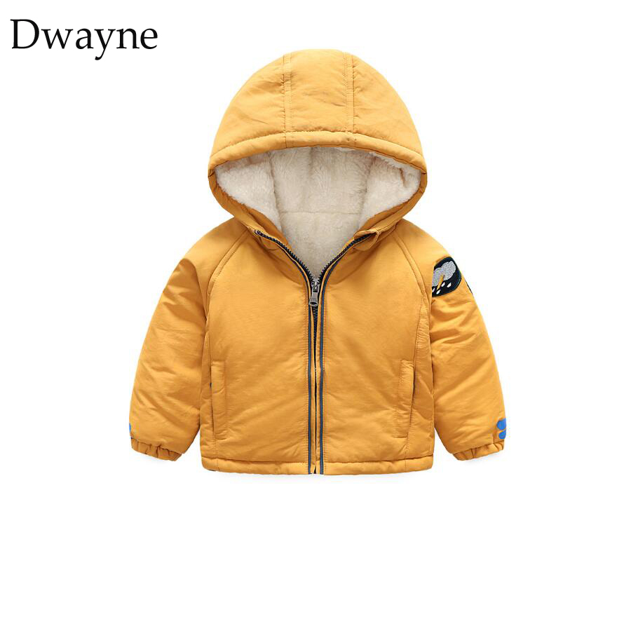 8943039ecd7 3 Years Baby Coat Jacket Infant Toddler Boys Girls Velvet Jackets 2018  Winter Jackets For Boys. артикул  32888143306