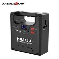 X DRAGON power Bank 145 вт 39000 мАч портативный генератор электростанция AC/DC/USB/type C источник питания с несколькими выходами батареи питания