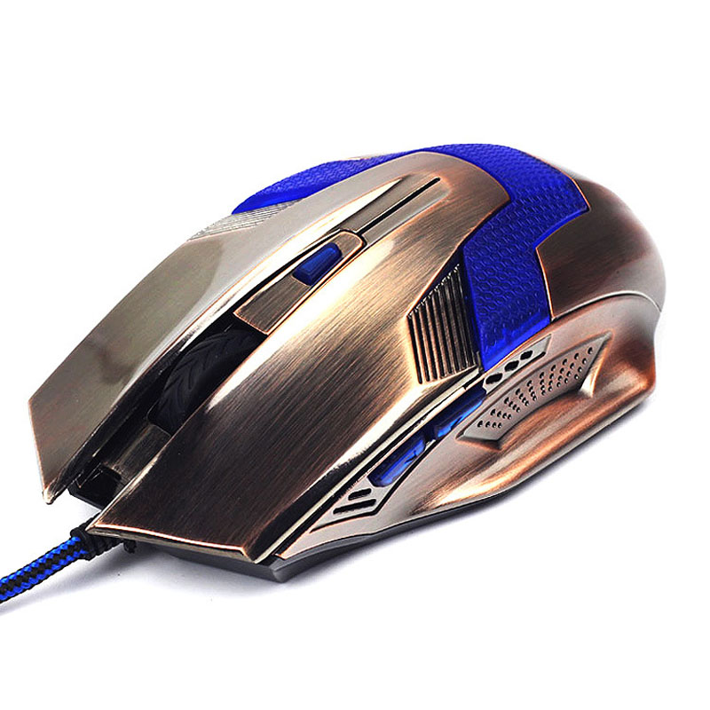 New Product Gaming Optical Mouse Computer USB Wired Gamer Professional Luminous Mice Ergonomic For PC Laptop