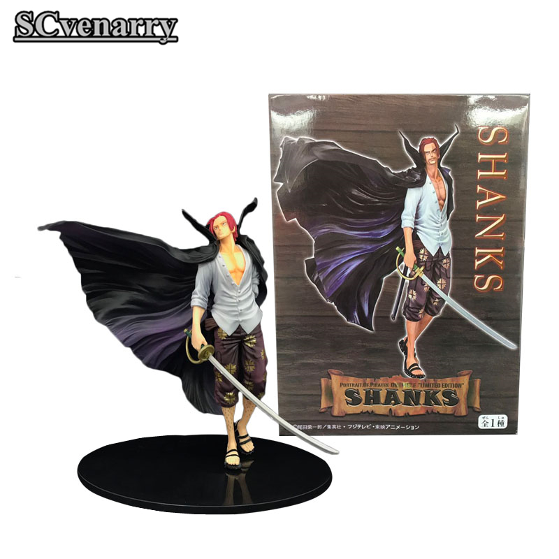NEW 18cm Shanks Stylist action figure toys collection doll Christmas Gift Box