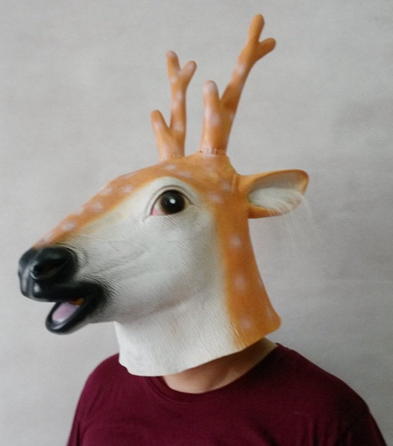 Mask latex deer