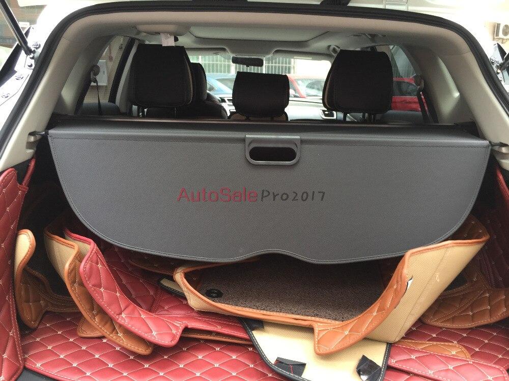 Stop Aluminium + tkanina tylna pokrywa bezpieczeństwa bagażnika pokrywa bagażnika dla Nissan Murano 2015 2016