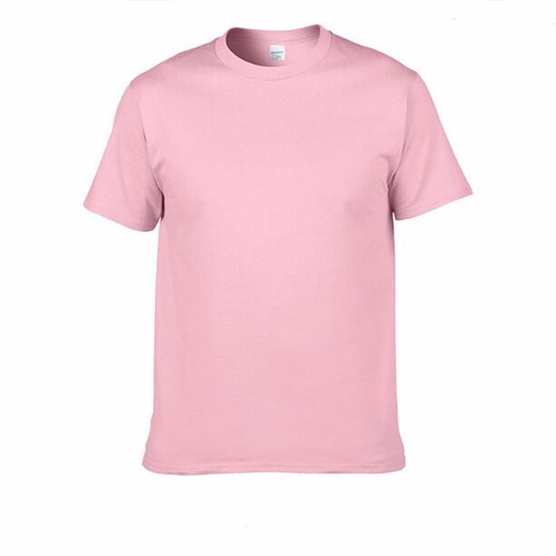 HTB1s9zBSpXXXXbHXXXXq6xXFXXXt - Men's Classic Solid Color High-Quality 100% Cotton T-Shirts - Wide Color Variety