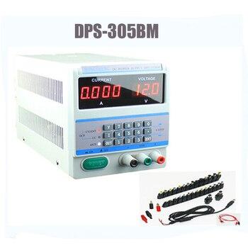 High-precision Digital programming power supply DPS-305BM 30V/5A 0.001A 0.1V + DC jakc kit for Laptop Phone Repair 4~7P
