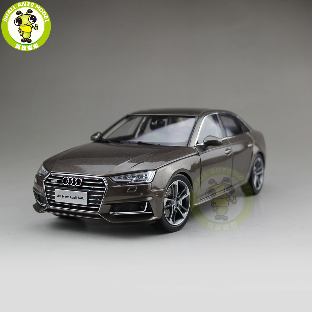 1/18 Audi A4 A4L Diecast Metal Car Model Toy Boy Girl Kids Gift Collection Brown