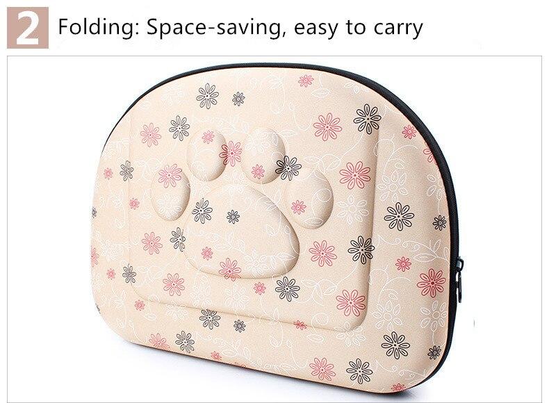 Outdoor Dog Carrier Backpack Saddle Bag 8