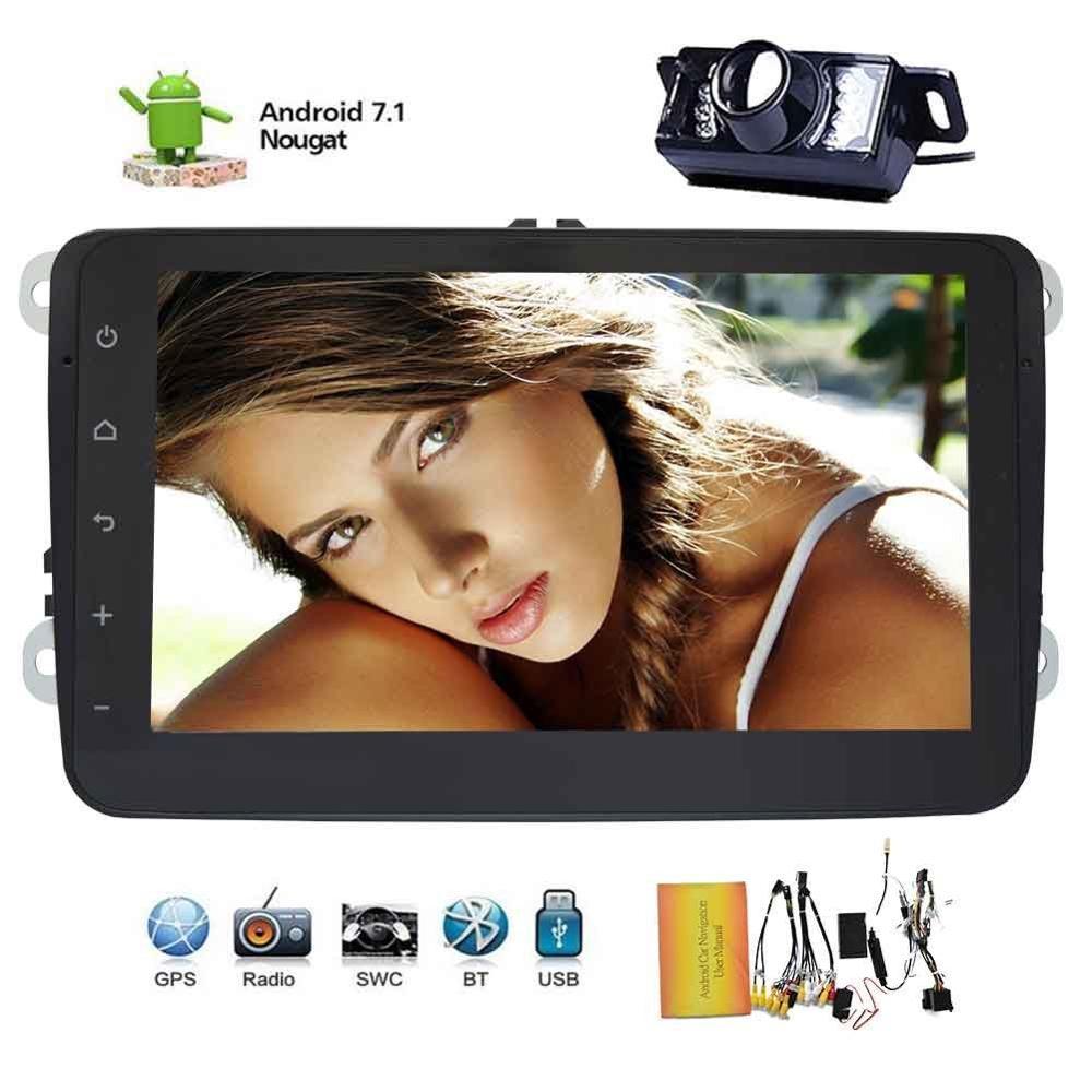 8 Car Nav GPS Stereo font b Radio b font Android 7 1 Bluetooth for VW
