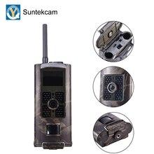 Suntekcam HC 700G caça câmera selvagem vigilância rastreamento jogo câmera 3g mms sms 16mp trilha câmera de vídeo scouting foto armadilha