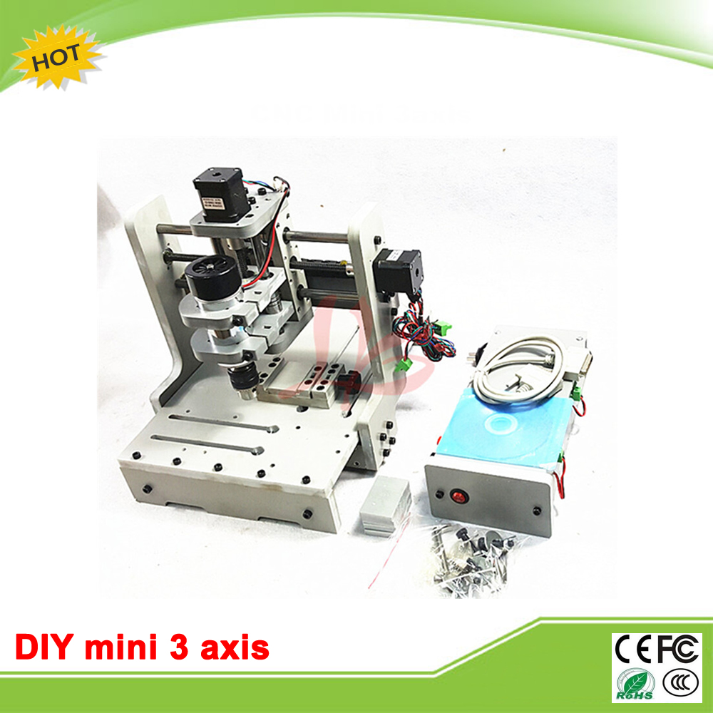 New LY DIY mini CNC 3 axis milling machine mini CNC router price free tax to RU EU cnc 5axis a aixs rotary axis t chuck type for cnc router cnc milling machine best quality