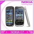 C7-00 original nokia c7 3g wifi a-gps java 8mp abrió el teléfono móvil 8 gb de almacenamiento interno del envío envío libre reformado
