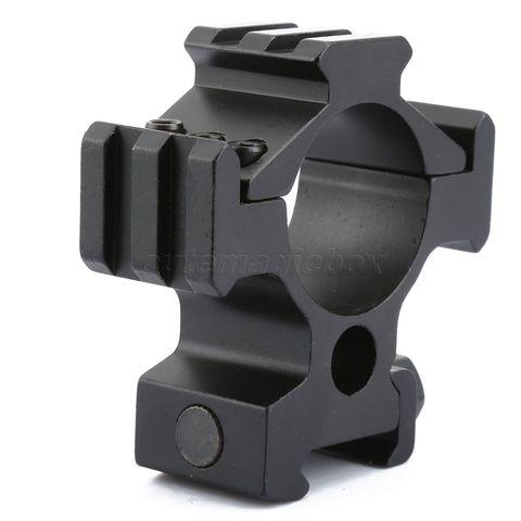Acessórios de Caça Tatical Tri-trilho Lados – 30mm Anel Riflescope Arma Escopo Rifle Picatinny Trilho Adaptador 20mm Montar 3 25.4 Mod. 342531