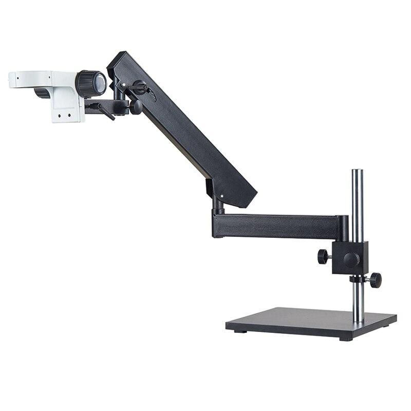 Support de pilier articulé 76mm support de Microscope support de bras universel réglable accessoires de Microscopio Zoom stéréo