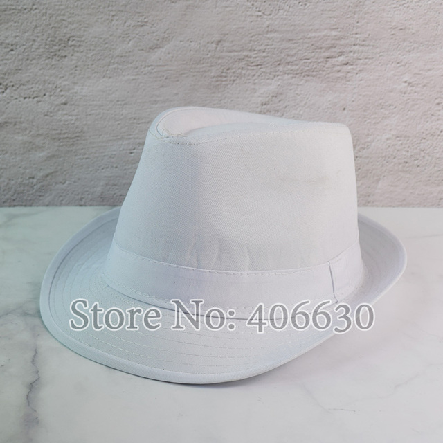 Black Fedora Jazz Cap 1