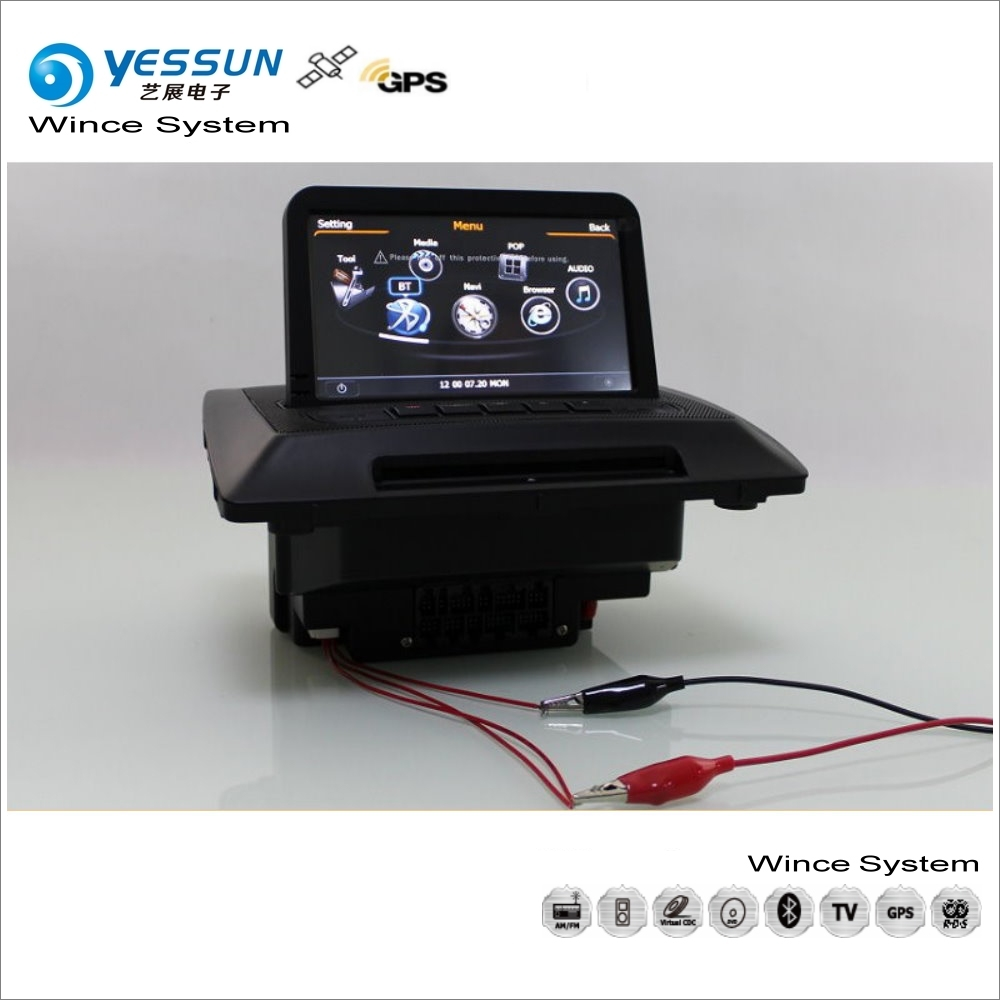 YESSUN pour Volvo XC90 XC 90 2007 ~ 2013 voiture multimédia Radio lecteur CD DVD GPS Navi carte Navigation Audio vidéo stéréo système S100