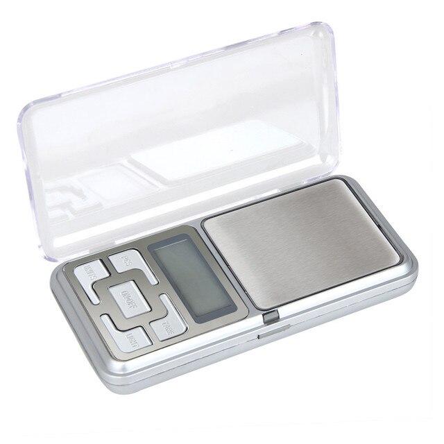 Escalas Auto calibração de alta Precisão Mini Balança Eletrônica Digital Portátil Balança Eletrônica 500g x 0.1g