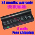 JIGU NEW 4400mAh 6cells Laptop battery for Asus AL23-901 AP23-901 Eee PC 1000 Eee PC 901 Eee PC 904HD free shipping