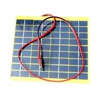 HOT SALE 5Watt 5W 18V Solar Panel Solar Cell 5 Watt For 12 Volt Garden Fountain