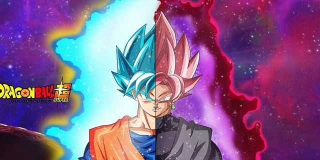 Serviette de bain Dragon Ball Z Noir Goku Super Saiyan Impression ...