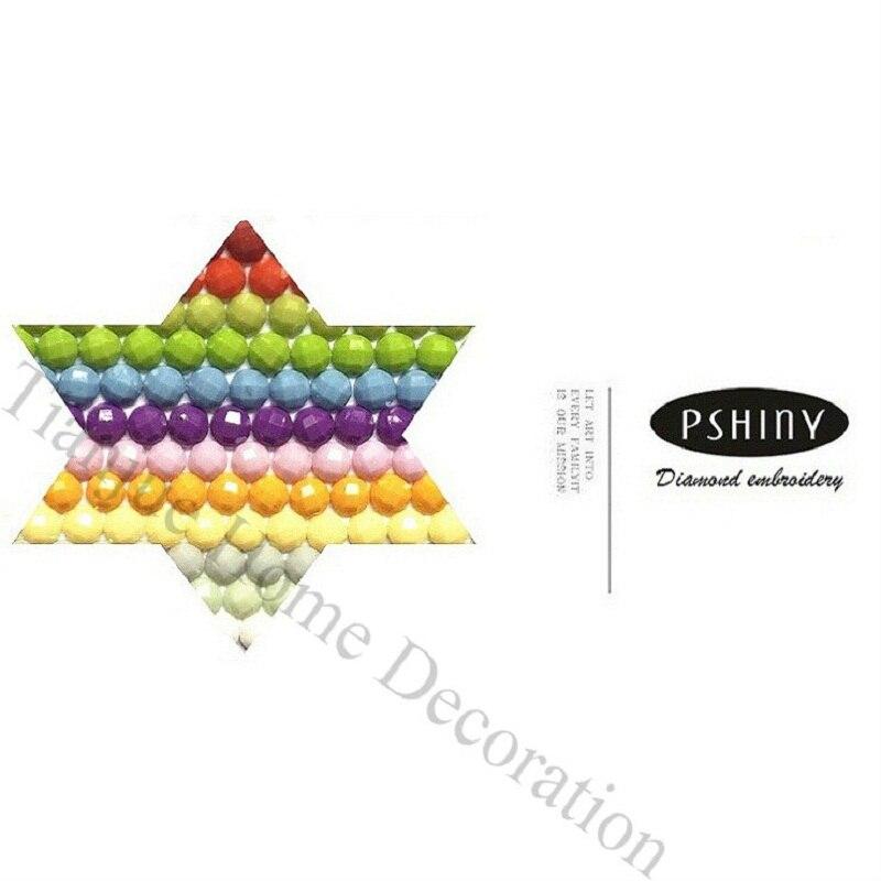 PSHINY 5D DIY Diamante bordado pavo real Imágenes kit de mosaico de - Artes, artesanía y costura - foto 3