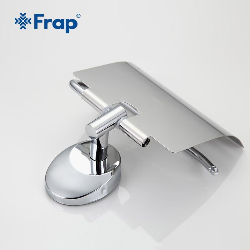 Frap silver Antique Bronze Cover Toilet Paper Towel Holder Space Aluminium Mounting Seat Bathroom Accessories Higienico F1603